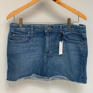 Lovers + Friends Jean Mini Skirt
